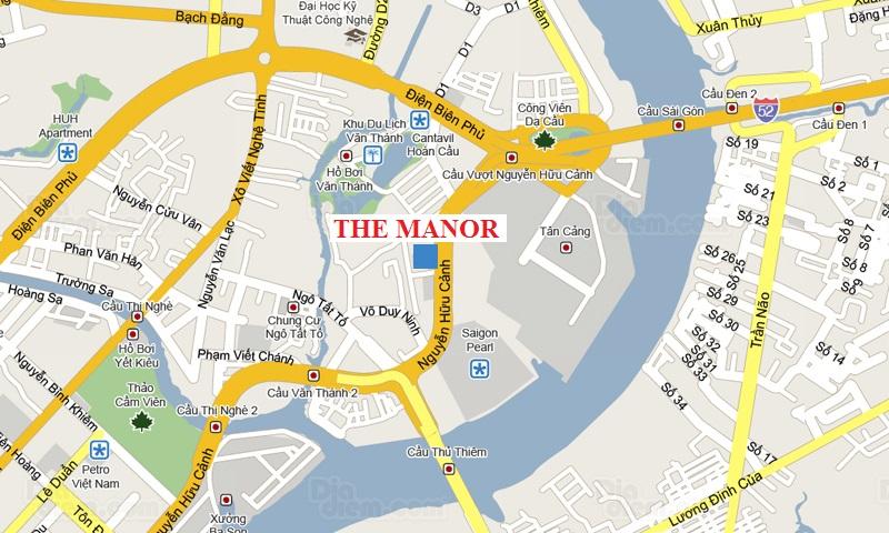 The manor căn hộ cao cấp quy hoạch khoa học khu hiện đại