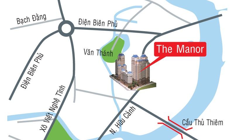 Dự án chung cư The manor vị trí tốt nhât thiết kế đẹp