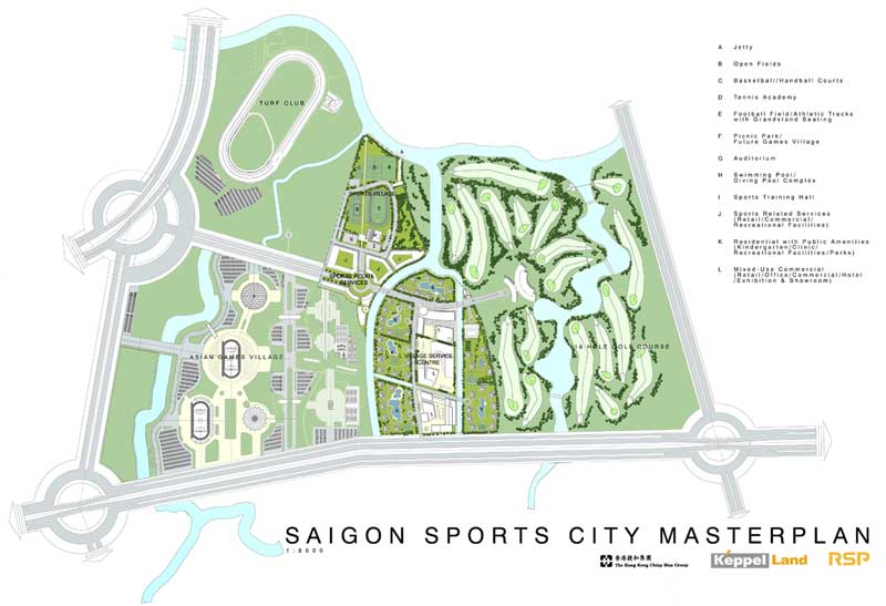 saigon sports city vi tri trung tam quan trong