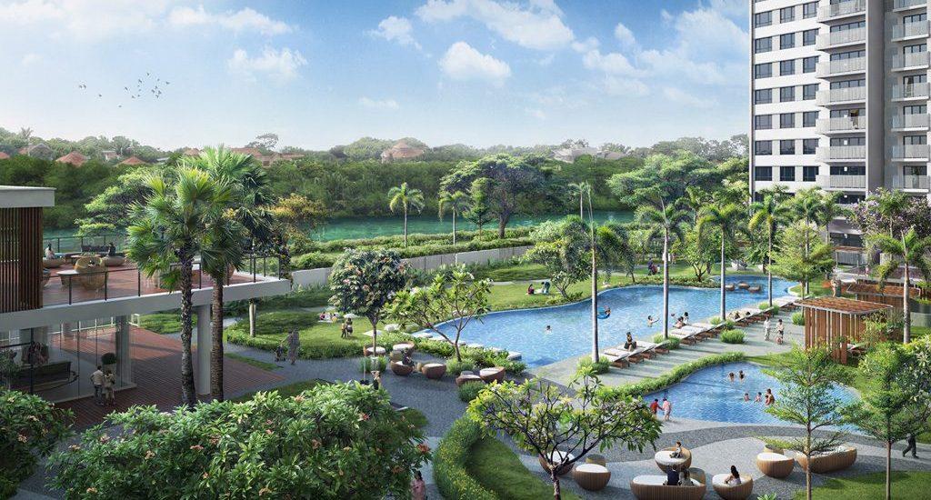 palm garden khong gian song xanh